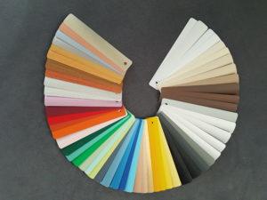 żaluzje aluminiowe kolorystyka